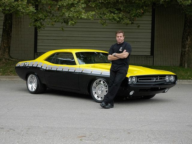 ... no wait, that's not me (I wish). Its just some guy named Chip Foose.