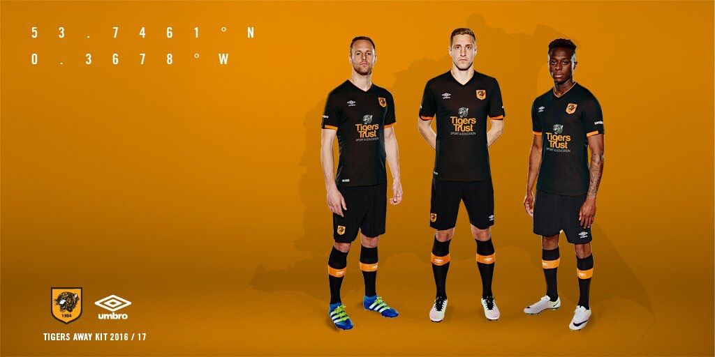 Hull City 2016/2017 Away Kit
