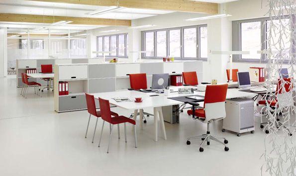 Oficinas modernas abiertas buscar con google coworking for Distribucion de oficinas modernas