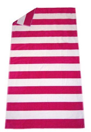 Extra Large Beach Towel 100 Egyptian Cotton Fuschia Pink