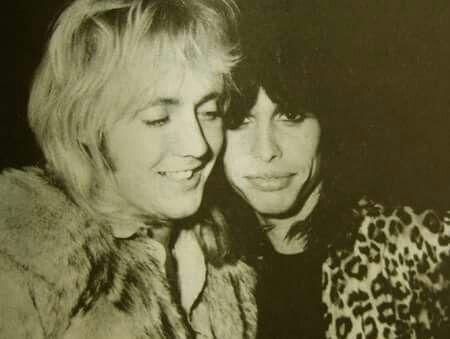 Roger with Steven Tyler
