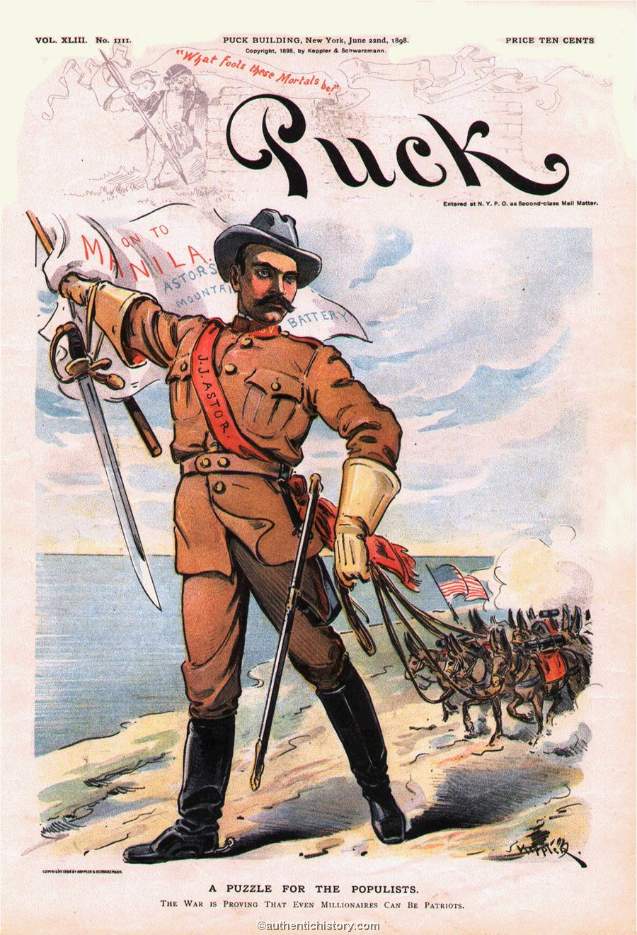 The Spanish American War Part 2 The Philippine Campaign The