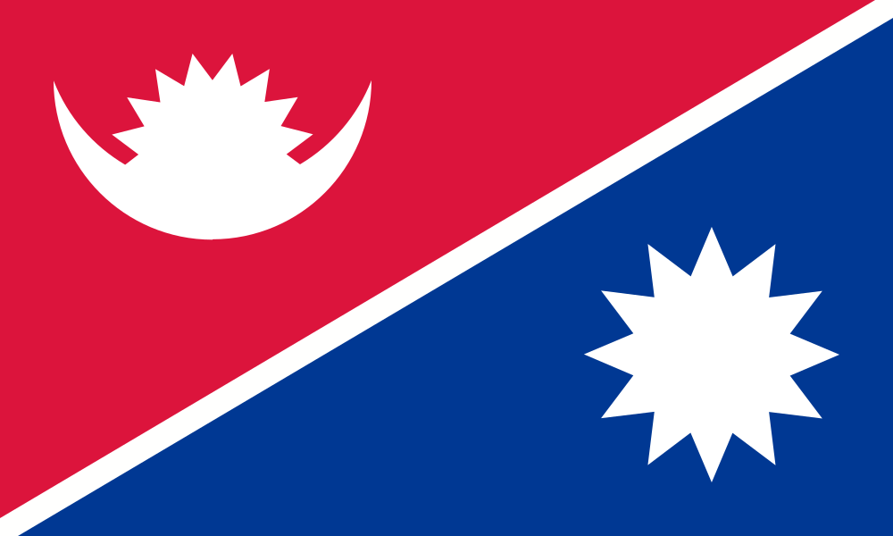 Redesigned Flag Of Nepal Nepal Flag Flag Country Flags
