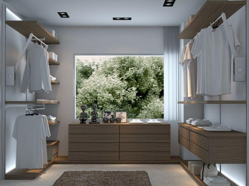 Begehbarer Kleiderschrank selber bauen – 50 Schlafzimmer ...