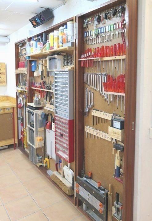 enclosed garage garage organization tips garage storage on top 55 best garage workshop ideas basics of garage workshop ideas explained id=29476