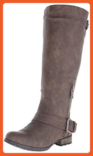 Carlos by Carlos Santana Women's Hamilton Western Boot, Taupe, 6.5 M US -  Boots