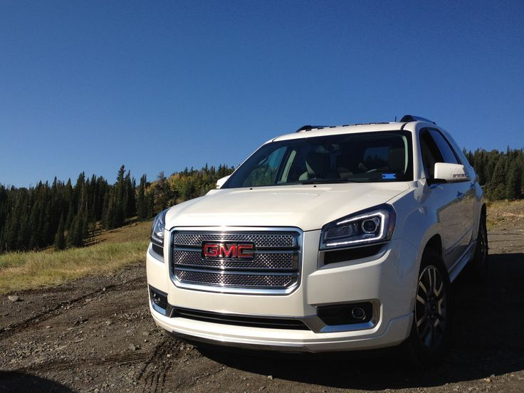 2014 Gmc Acadia Denali Love The Headlights Acadia Denali Gmc Vehicles Gmc