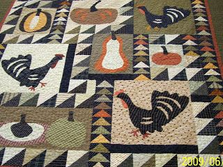 "Log Cabin Quilter: ""THE GREAT PUMPKIN QUILT"" FINISHED"