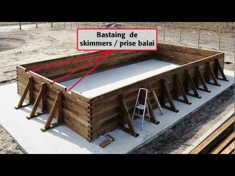 Comment installer une piscine Bois rectangulaire Hors-sol 5 X 10 m - Comment Poser Une Terrasse Bois