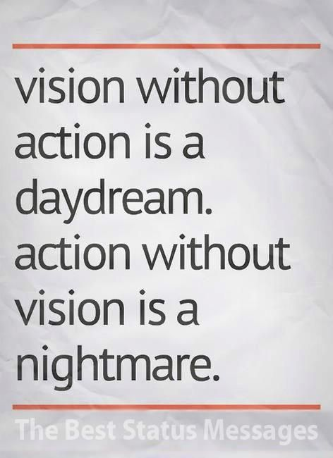 strategy without action only daydream but action without s Strategy execution is the responsibility that makes or breaks executives —alan branche and sam bodley-scott, implementation strategy without tactics is the slowest route to victory tactics without strategy is the noise before defeat.