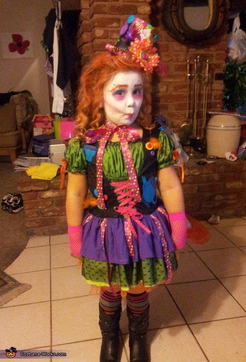 miss mad hatter halloween costume contest via costumeworks - Mad Hatter Halloween Costume For Kids