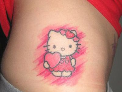 Pin By Brea Meadows Hawkins On Hello Kitty Tattoo Ideas Hello Kitty Tattoos Hello Kitty Cat Tattoo