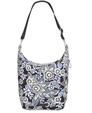 f1aeba28fe Vera Bradley Carson Medium Hobo Bag - Snow Lotus