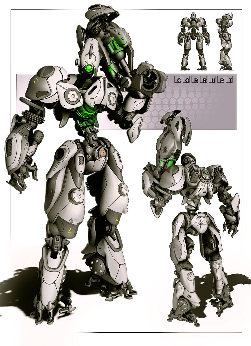 Character Design Unreal 4 : Art by hawkprey http spot robotic