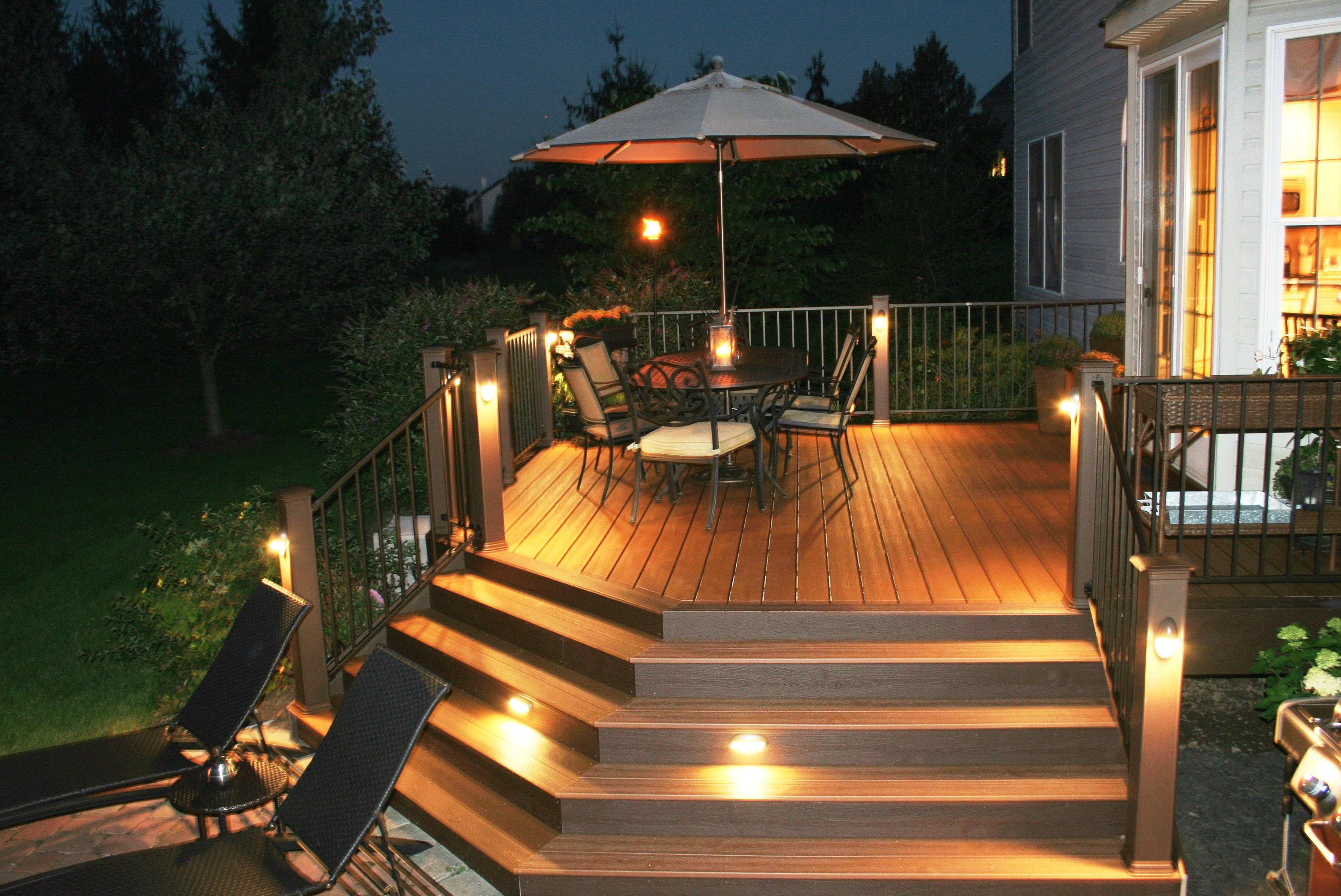 Deck Step Lights Lowes Home Design Ideas Deck Lighting