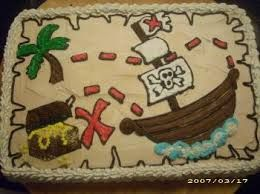 Image result for pirate map cake