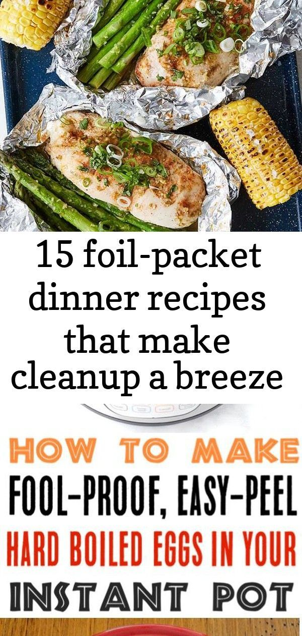 Photo of 15 foil-packet dinner recipes that make cleanup a breeze #honeylimechicken Honey…