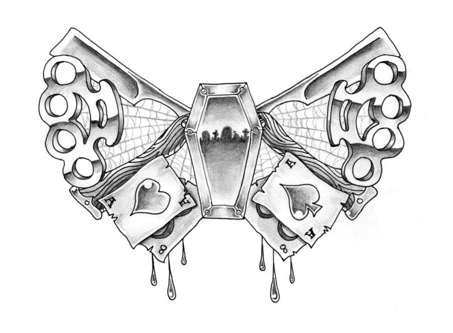 Pin by Chris Christman on Nucks Brass knuckle tattoo