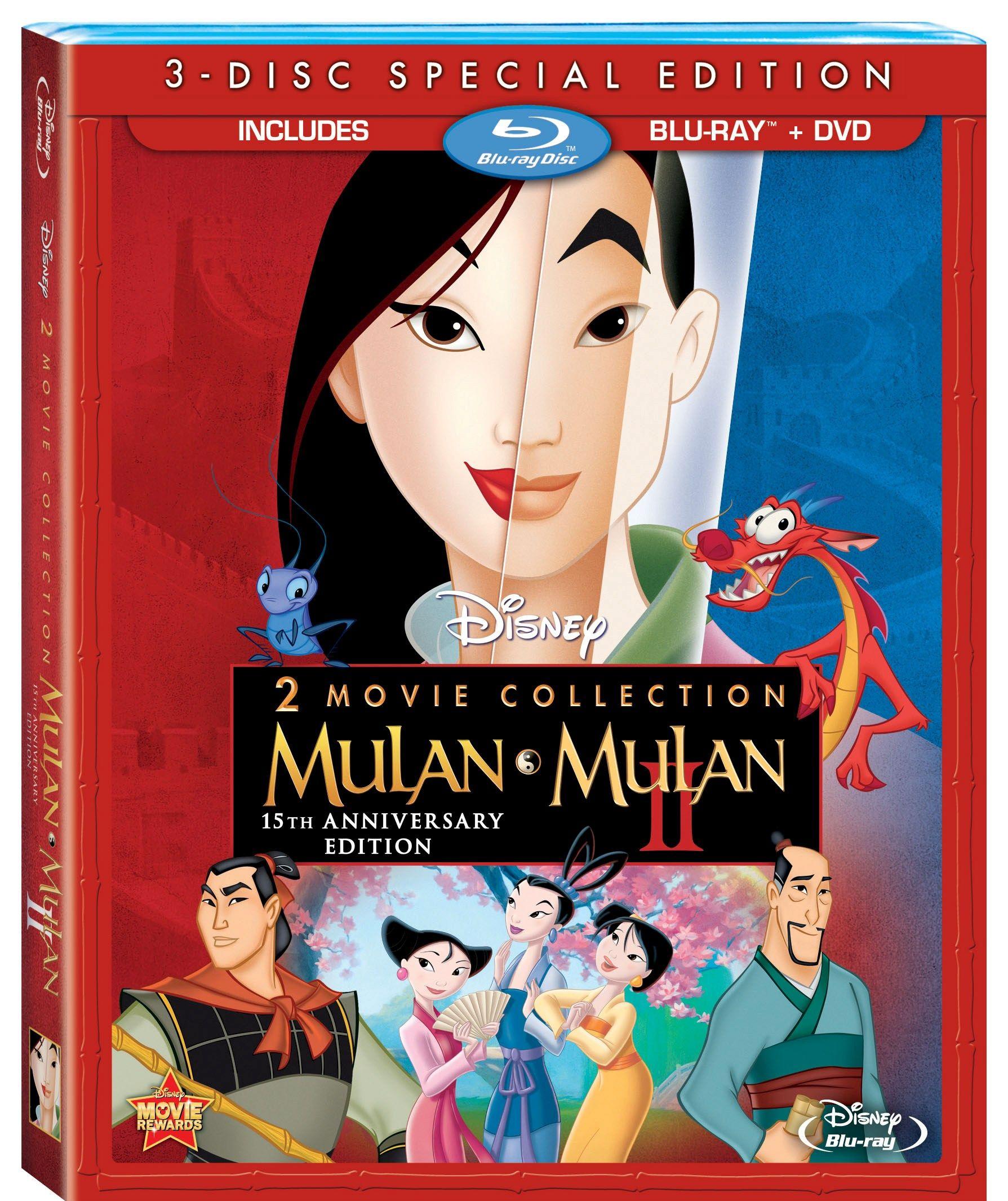 Mulan 1998 Dvd
