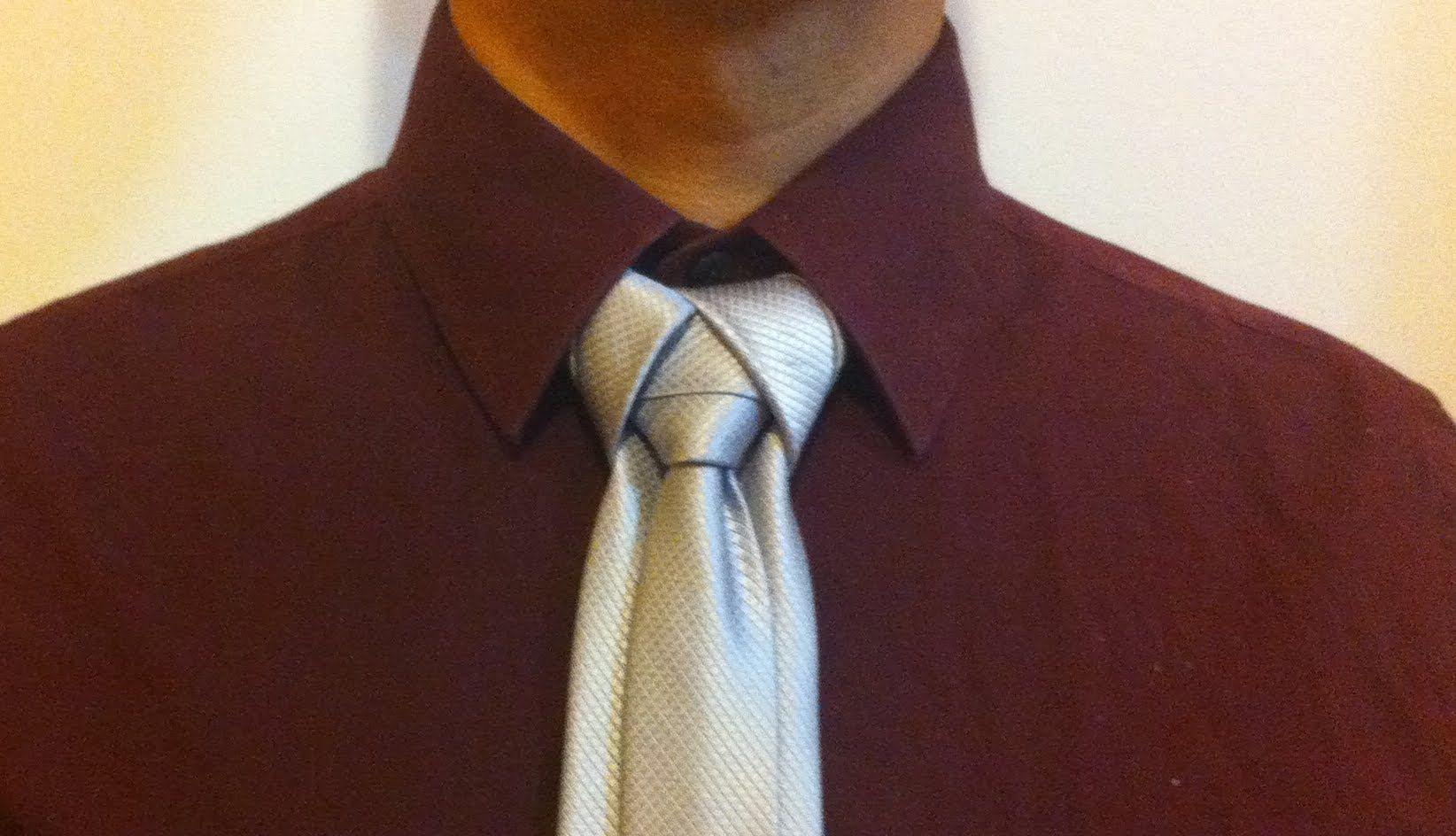 Como hacer el nudo de corbata ediety moda masculina for Nudos de corbata modernos