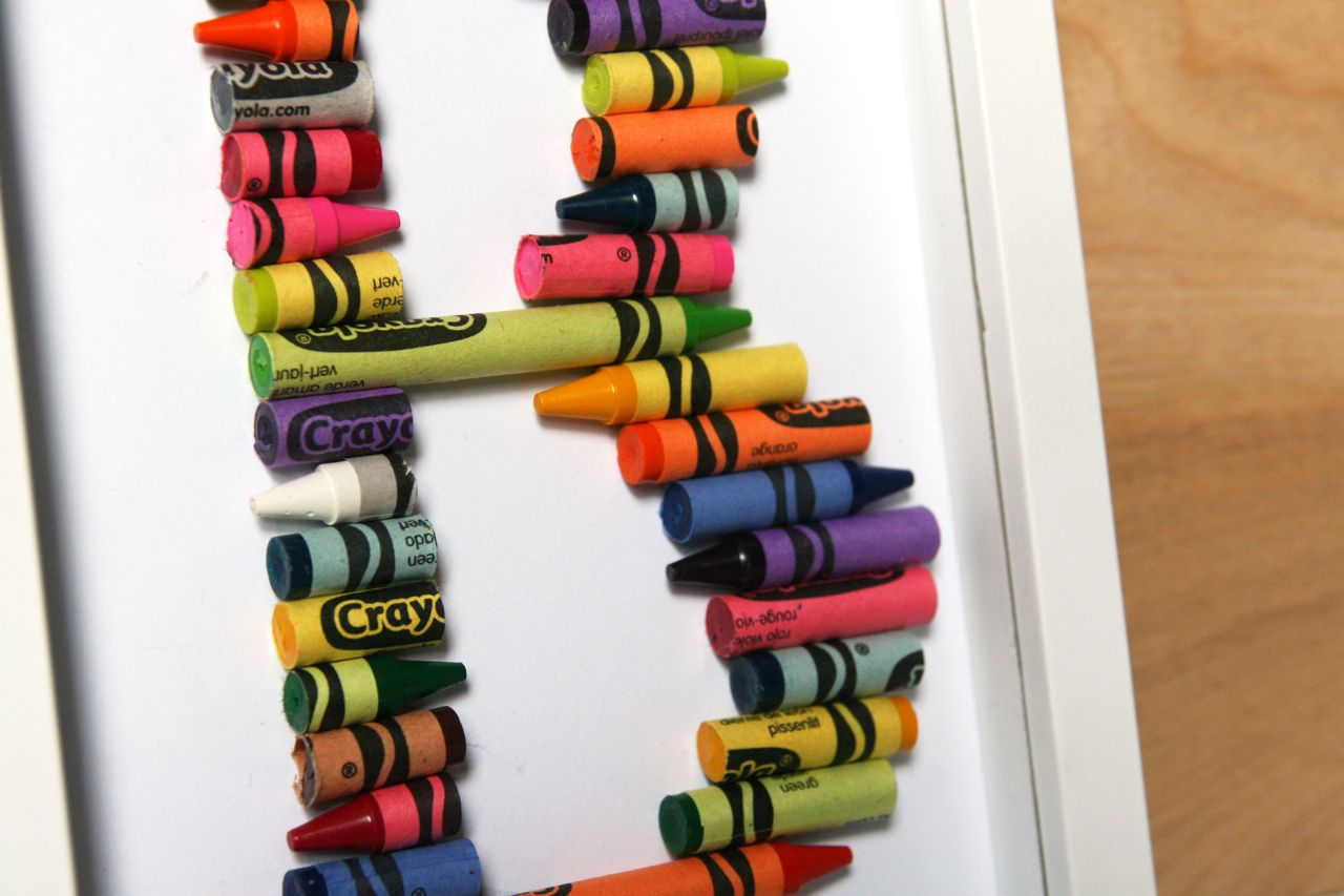 Project 21 Week 23 – Crayon Alphabet | the 3 R's blog