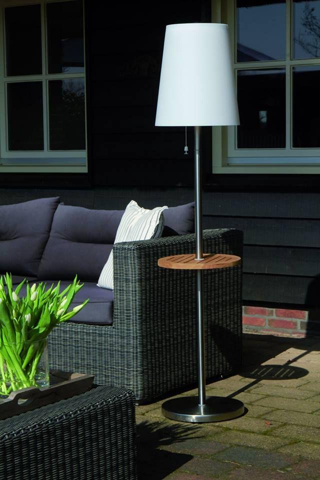 Snoerloze tuinverlichting. Staande lamp Roots op zonne-energie ...