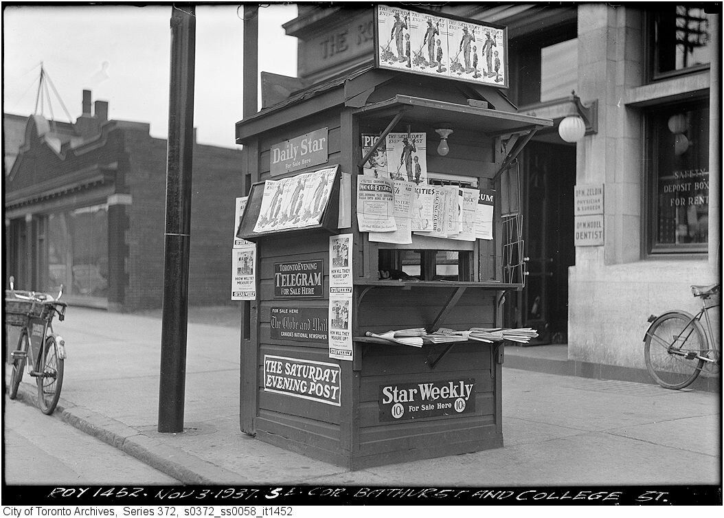 Explore Newspaper Stand Vintage And More