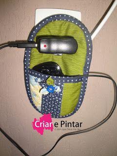 Porta carregador de celular | Criar e Pintar