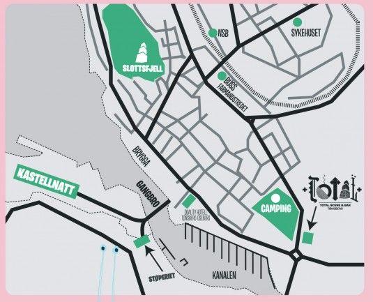 kart over tønsberg sentrum Kart over Tønsberg sentrum | Slottsfjellfestivalen | Pinterest kart over tønsberg sentrum