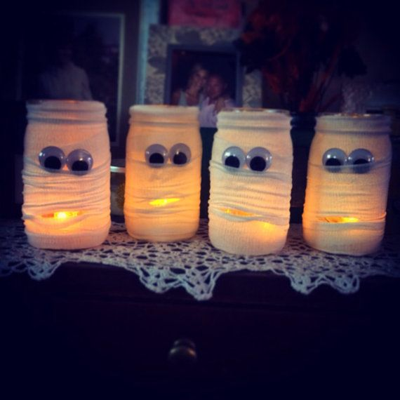 Hey, I found this really awesome Etsy listing at https://www.etsy.com/listing/203806475/halloween-mason-jar-candle-holders