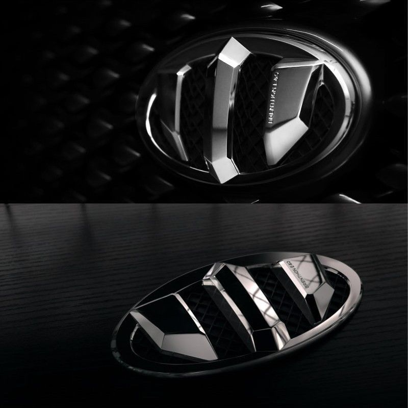 BRENTHON High Quality Front & Rear NEW Emblem for KIA K900