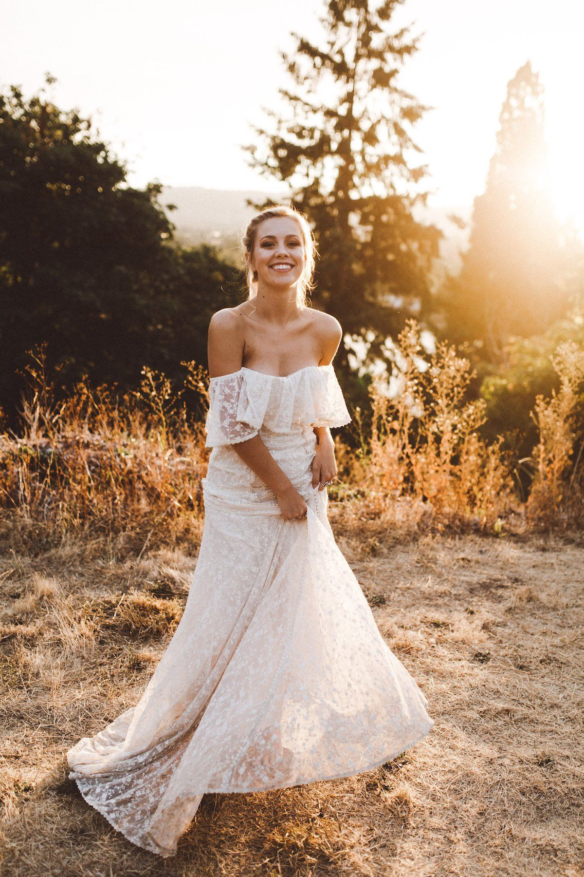 acd6e55e80e off-shoulder-lace-wedding-dress-the-lottie-dress-from-dreamers-and-lovers -made-in-california