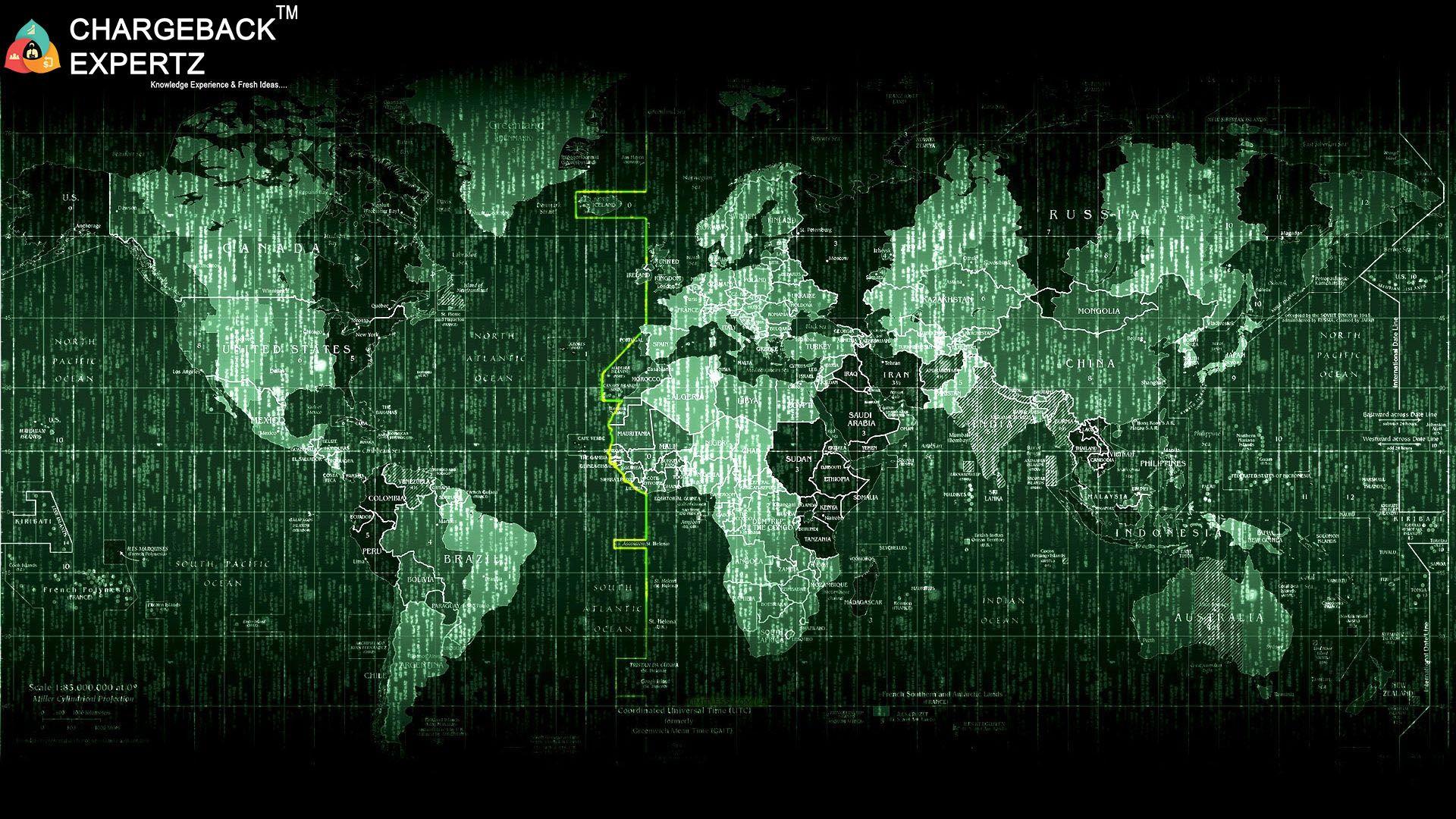 E Commerce And Chargbacks World Map Wallpaper Code Wallpaper Map Wallpaper