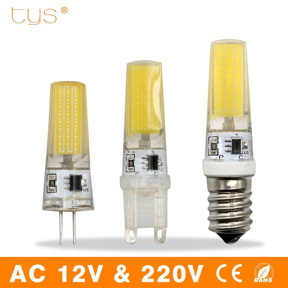 Bombillas Led Bulb G9 G4 E14 3w 6w 9w 220v Lampada Led Lamp 12v Cob Chip Dimmable Lampara Led Light Bulb For Chandelier Ligh Led Light Bulb Led Bulb Led Lights