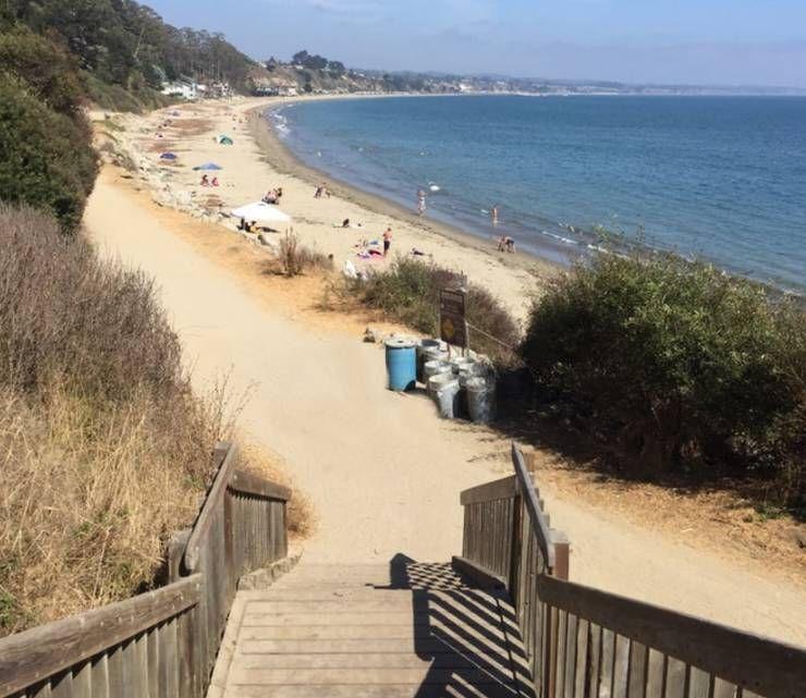 New Brighton State Beach Camping Day