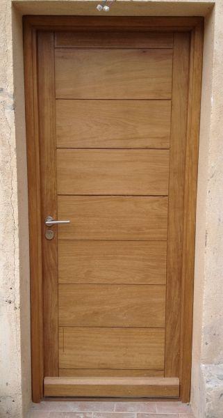 porte en iroko - Recherche Google & porte en iroko - Recherche Google | doors | Pinterest | Doors
