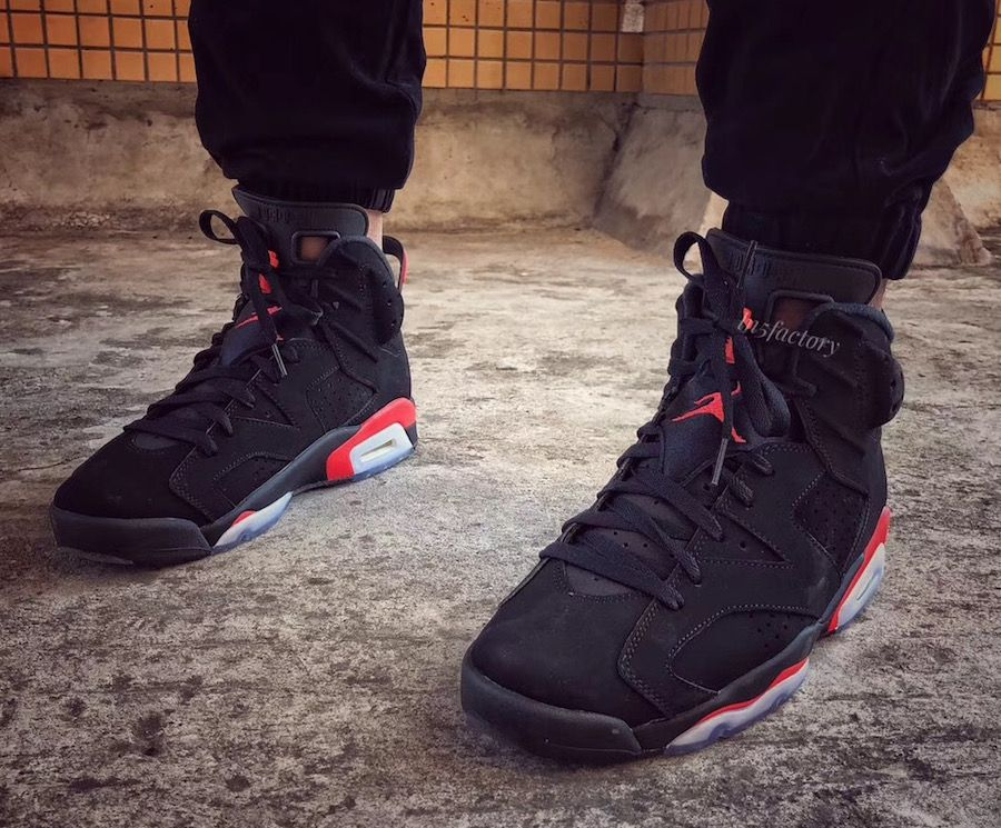 uk availability 545ff 71dec Air Jordan 6 Black Infrared OG 2019 Release Date | shoes ...