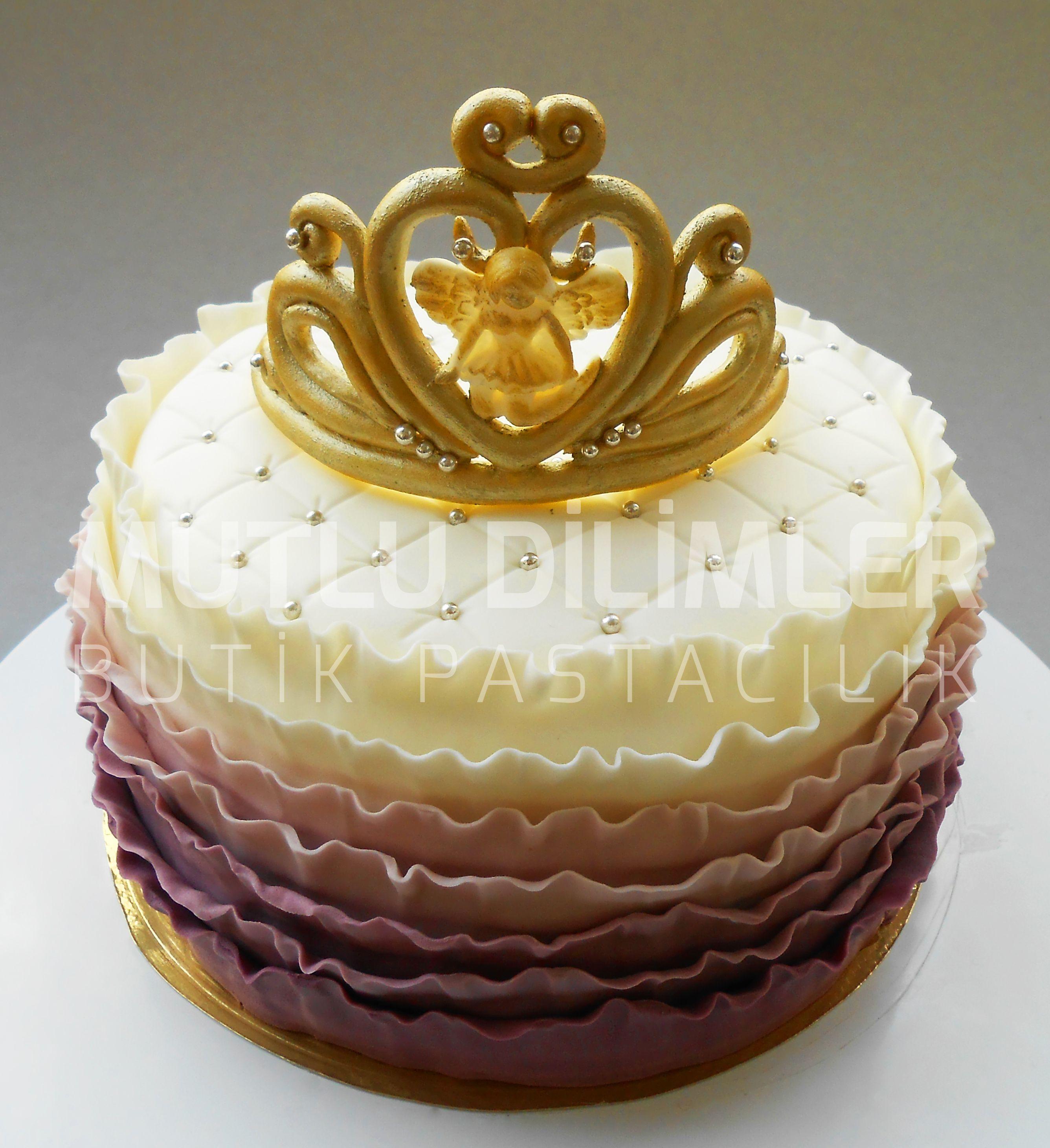 Princess Birthday Cake Girl Birthday Cake Tiara Cake Ombre