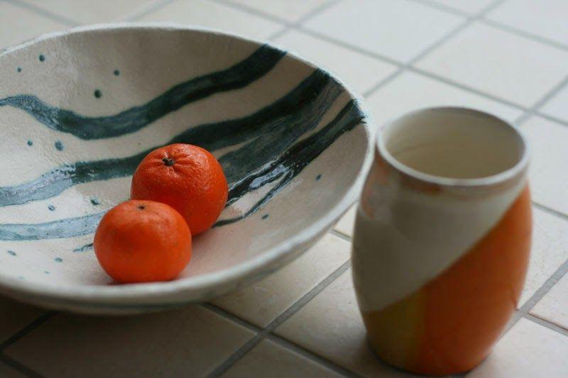 pitsiä ja posliinia: Kukkia ja keramiikkaa - Flowers and ceramics
