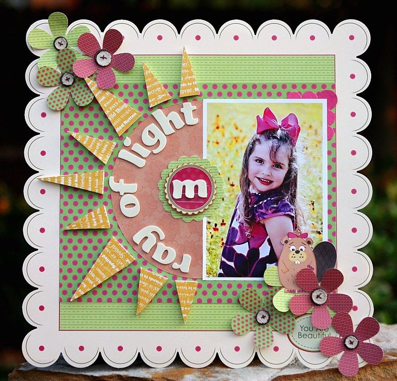 project inspiration from scrapbook steals Niki silvis collection