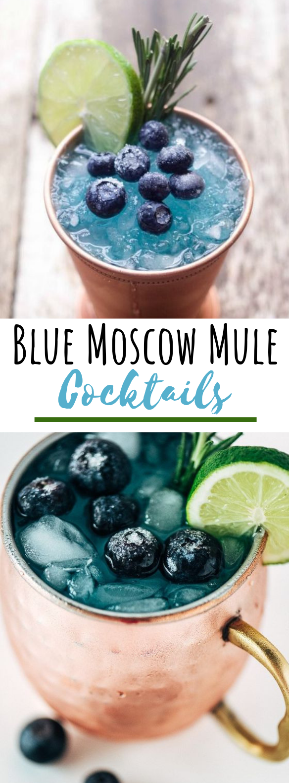 Photo of Blue Mule Cocktail #drinks #cocktails