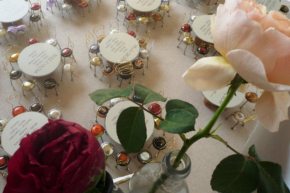 Matrimonio Tema Idee : Idee tableau tema vino matrimonio