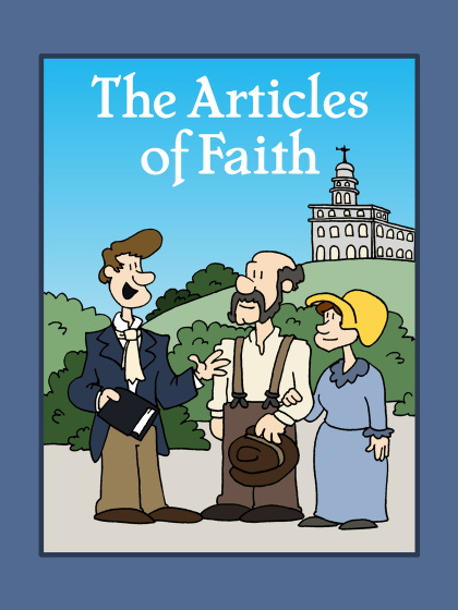 Learn the Articles of Faith while coloring these fun illustrations