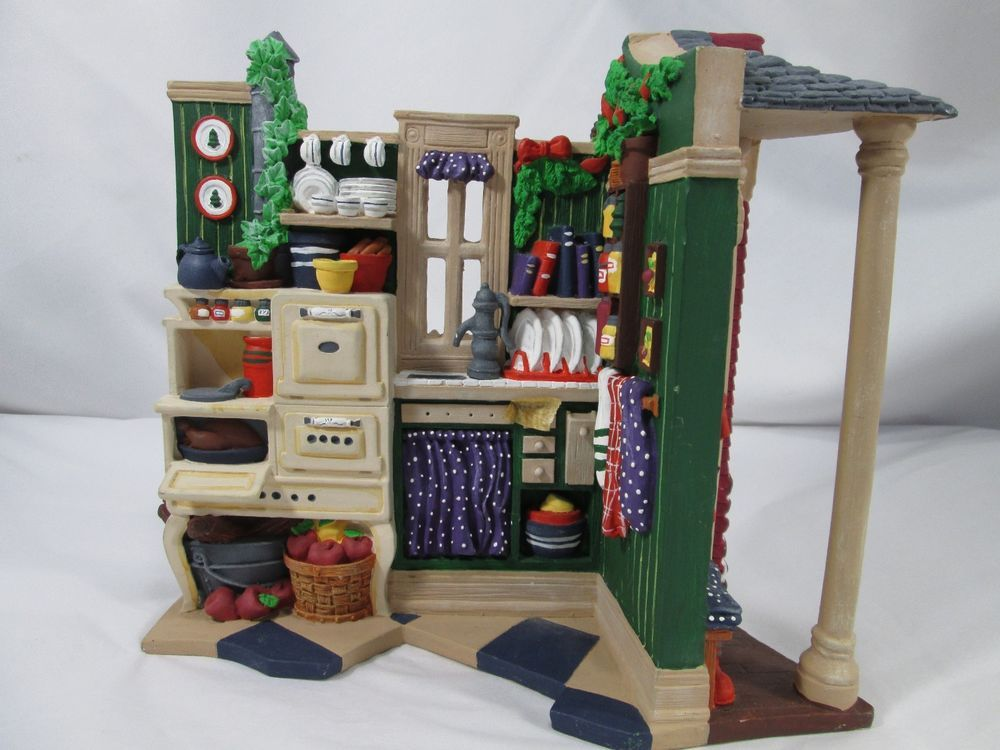 Dept 56 All Through The House Kitchen Christmas Holiday