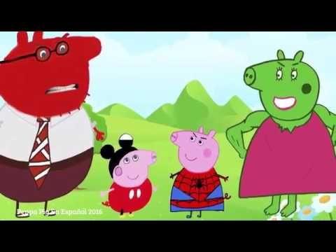 Videos de peppa pig en español capitulos completos y nuevos de Peppa pig.
