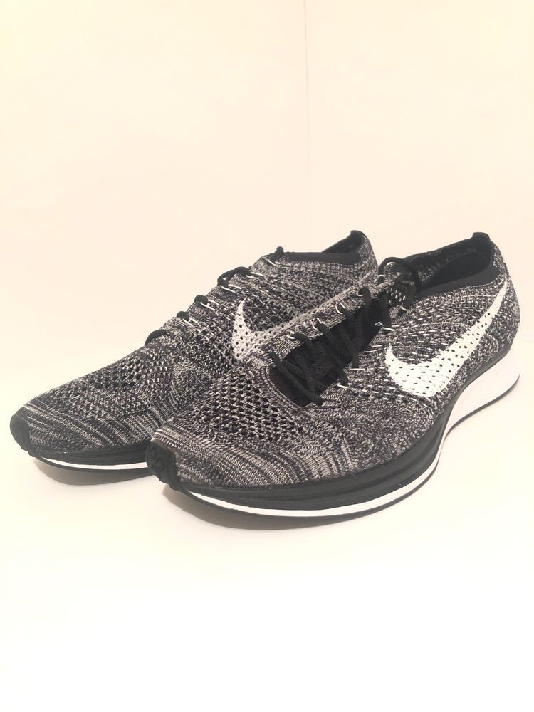 70a27e0e24c5 Size 11 Nike Flyknit Racer Oreo 2.0 Black White Mens Running Shoe 526628-012   fashion  clothing  shoes  accessories  mensshoes  athleticshoes (ebay link)