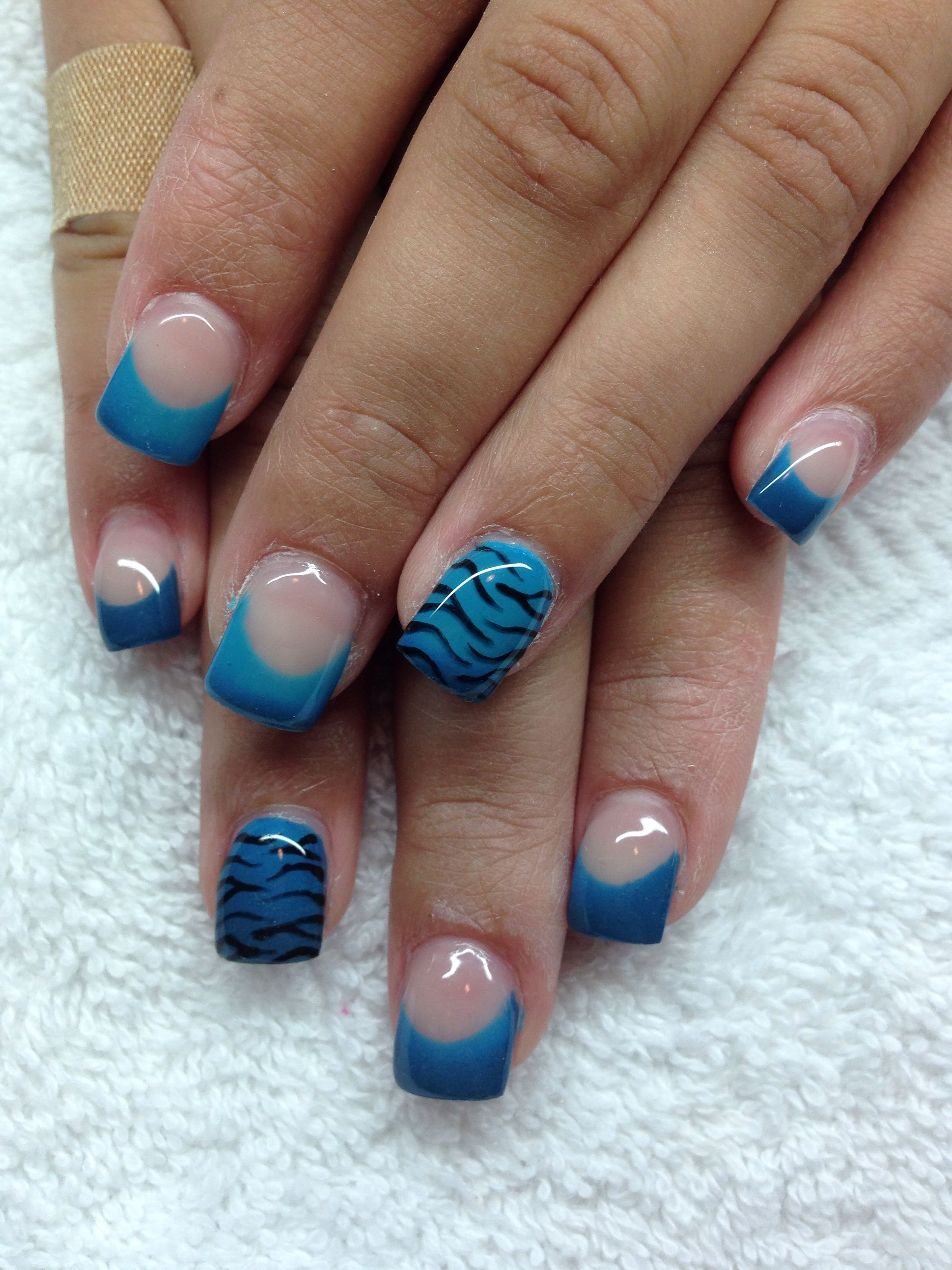 Thermo Color Changing Gel With Hand Drawn Design By Melissa Fox