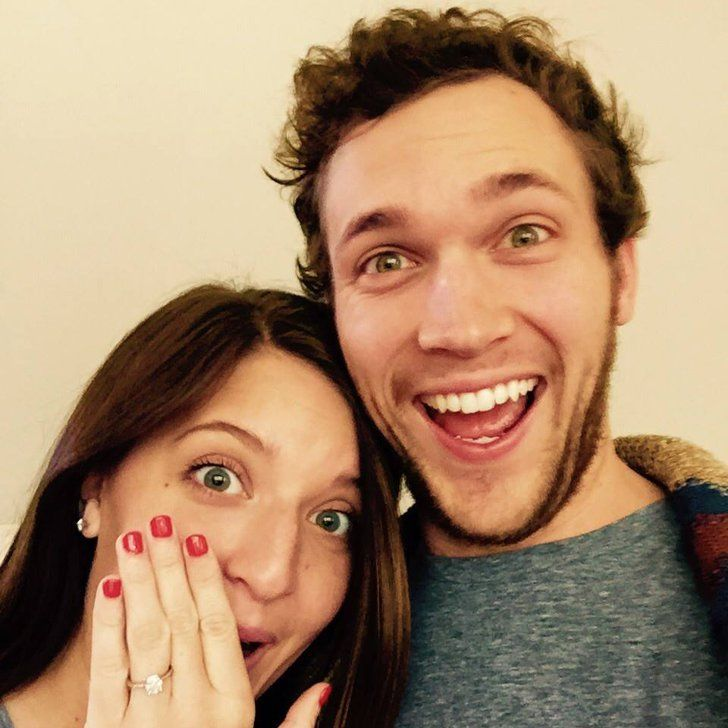 Pin for Later: American Idol Winner Phillip Phillips Is Engaged — See His Fiancée's Ring!
