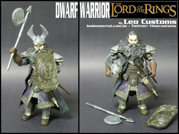 Dwarf Warrior (Lord of the Rings) (Lord of the Rings