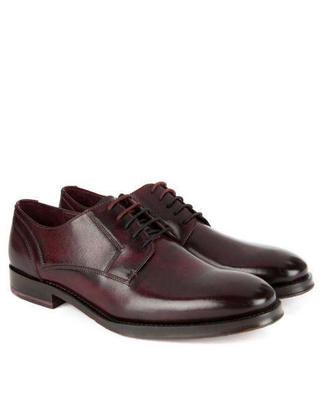 Dark red Derby shoes choice online cBQHXe